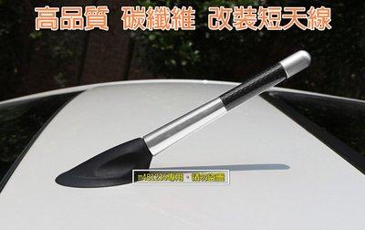 高品質 銀色款 12公分專區 碳纖維短天線 改裝天線 通用款 附多種鎖牙尺寸及裝飾套筒 卡夢Carbon