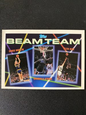 Shaquille O'Neal RC 1992-93 Topps Beam Team