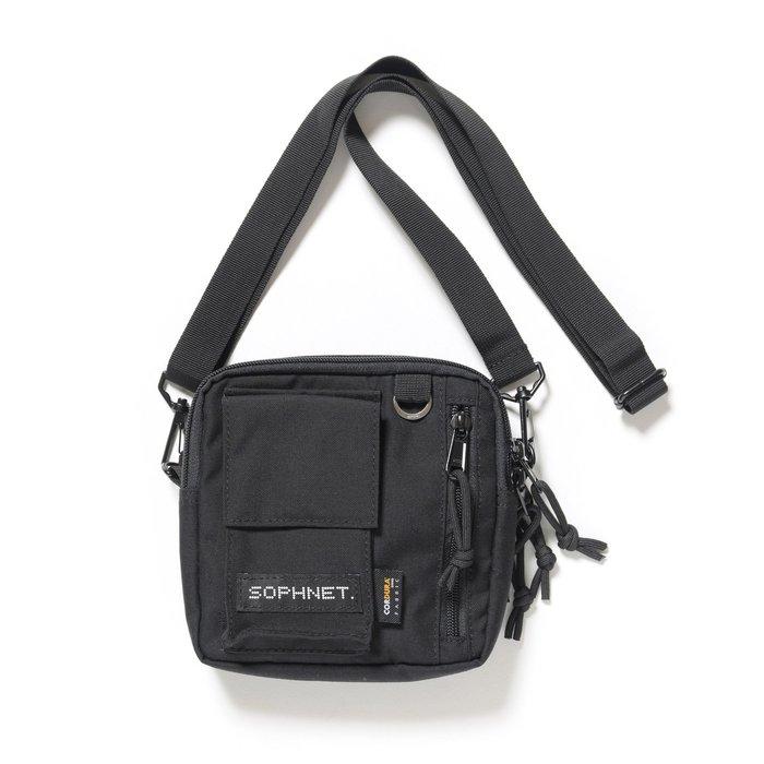 「NSS』SOPHNET SOPH 19 AW SMALL SHOULDER BAG 小包 側背包