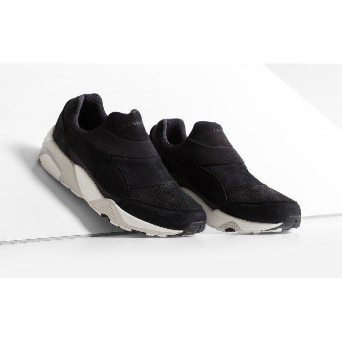 PUMA Trinomic Sock x STAMPD  黑  襪套 無鞋帶 彈力綁帶 男