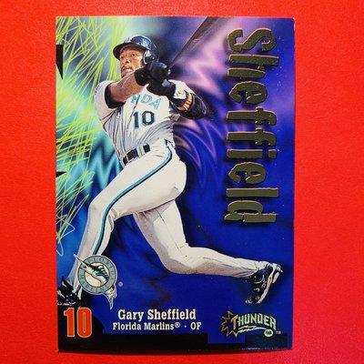 Gary Sheffield 1998 Skybox Circa 漂亮明星卡