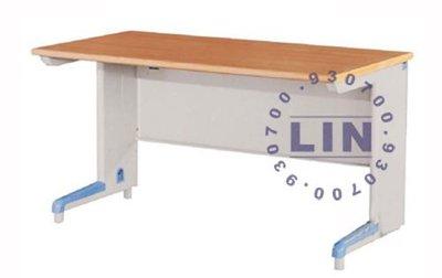 【品特優家具倉儲】◎P871-11辦公桌職員桌電腦桌AH木紋辦公桌120*70◎