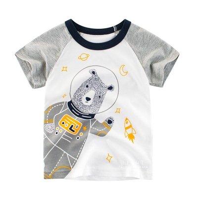 【可愛村】宇宙大熊太空人短袖T恤 童裝 T-shirt