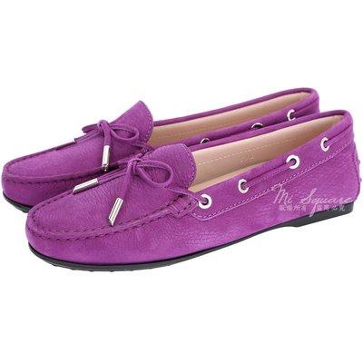 米蘭廣場 TOD'S City Flake 綁帶膠底豆豆休閒鞋(女鞋/紫色) 1710767-04