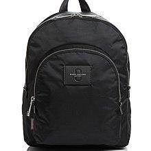 Coco 小舖 MARC JACOBS Double Pack Medium Nylon Backpack黑色尼龍後背包