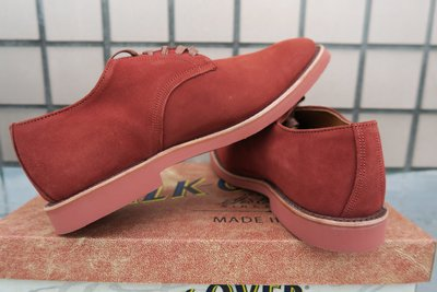 《Classic Hunter》全新1758年創美製WALK-OVER高級Oxfords 8.5M(Red Wing)