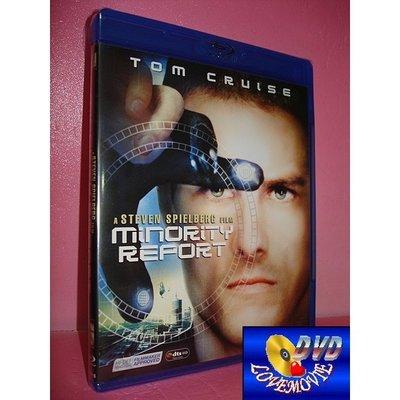 A區Blu-ray藍光正版【關鍵報告Minority Report(2002)】BD-50[含中文字幕] 全新未拆