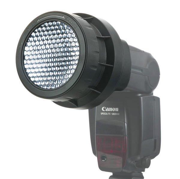 呈現攝影-JJC 三合一蜂巢罩 閃光燈 蜂巢聚光 外閃專用可16/25/45度 SB900 SB910 似LF-4005