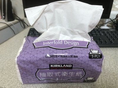 Costco好市多KIRKLAND三層衛生紙5包入