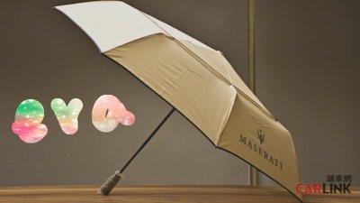 全新 瑪莎拉蒂 MASERATI 7-11 聯名限量自動雨傘 雨傘 (白色)