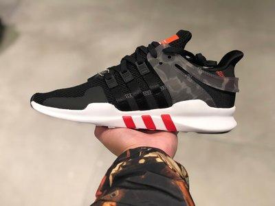 【路克球鞋小天地】愛迪達ADIDAS EQT Support ADV 黑紅 黑白 迷彩 復古 慢跑鞋 AQ1043