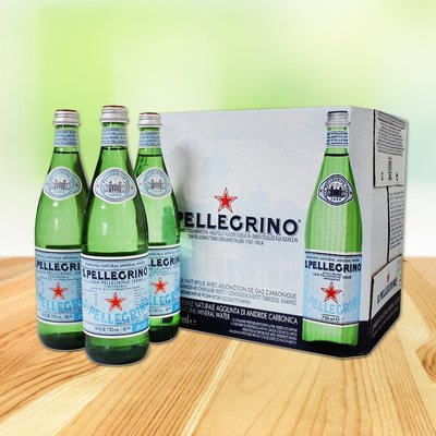 costco線上代購 #56076 San Pellegrino 聖沛黎洛 天然氣泡水 750毫升X12瓶-a