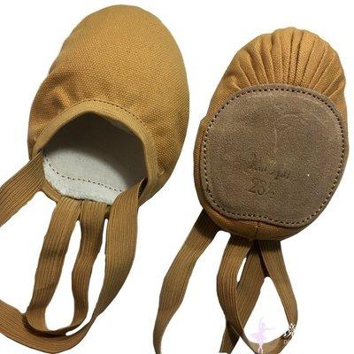 艾蜜莉舞蹈用品*舞蹈鞋*帆布半截鞋/韻律體操鞋$350元