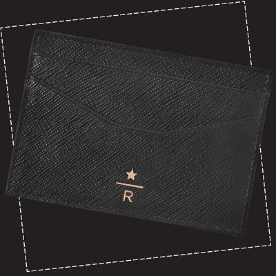 starbucks reserve card holder