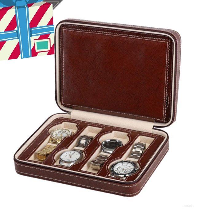 拉鍊手錶收納包 收藏盒(收納8只錶)