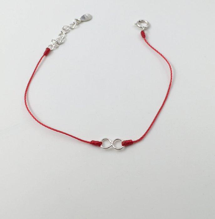 [Le Bonheur Line] 幸福線 手工/925純銀 8字 無限/手鍊 redline 飾品 愛無限 禮物 發