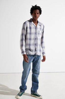 【有機棉新款29-42腰優惠】美國LEVIS 505 Eco Spotted 水洗藍彈性 中直筒 牛仔褲 丹寧褲501