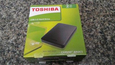 含稅開發票 TOSHIBA 2TB 2T 2.5吋 行動硬碟 外接硬碟 全新公司貨