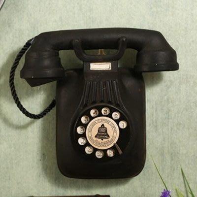 掛飾 壁掛 擺件-美式做舊復古電話居家擺飾用品2款73a7[獨家進口][巴黎精品]