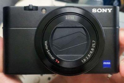 二手 SONY RX100M5 公司貨保固七日 簡配