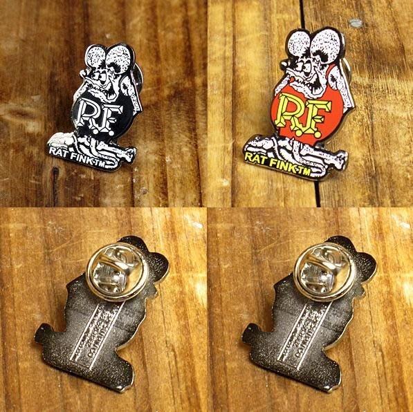 (I LOVE樂多)RAT FINK經典款別針 徽章 裝飾在腰包 包包 衣服外套 鞋子都非常有風格喔RF