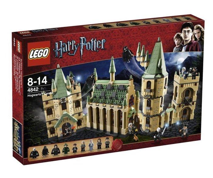 現貨【LEGO 樂高】全新正品 益智玩具 積木/ 哈利波特系列: 霍格華茲城堡Hogwarts Castle 4842
