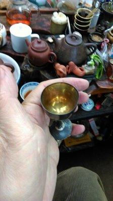 大草原典藏,日本百年純銀杯