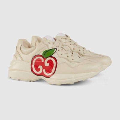 【代購】限時促銷價 Gucci Rhyton GG LOGO 蘋果 休閒鞋 老爹鞋 Rhyton GG