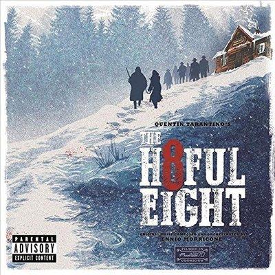 正版CD電影原聲帶 顏尼歐莫利克奈《八惡人》/  The Hateful Eight全新未拆