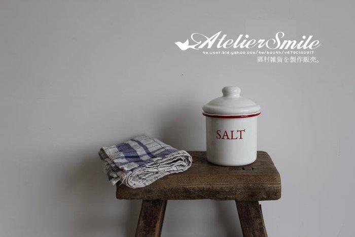 [ Atelier Smile ] 鄉村雜貨 復古作舊  搪瓷調味罐 儲物盒 收納罐 多款選 (現+預)