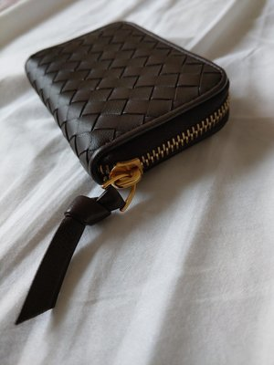 BV 小羊皮 散紙包 Bottega Veneta Woven Coin Purse