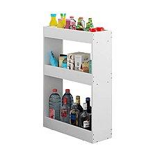 (訂貨價 $150up)17cm超窄 空隙收納櫃 廚房置物架(雙層|三層) 廚房收納架 Wood Kitchen Rack
