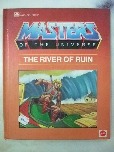 A1☆1985年『Masters of the Universe-The River of Ruin太空戰士』《A Golden Book》