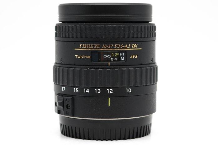 【高雄青蘋果3C】Tokina AT-X DX 10-17mm f3.5-4.5 Fisheye 二手鏡頭 #42124