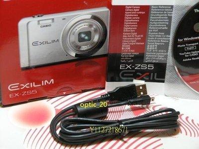 Casio USB傳輸線 充電線 EX-Z35 FC200S FH20 ZR10 S200 Z1 TR200 Z20 台中市