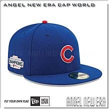 【ANGEL NEW ERA】MLB 芝加哥 小熊 冠軍 CHAMPIONS  世界大賽  球員版 限量帽 !!