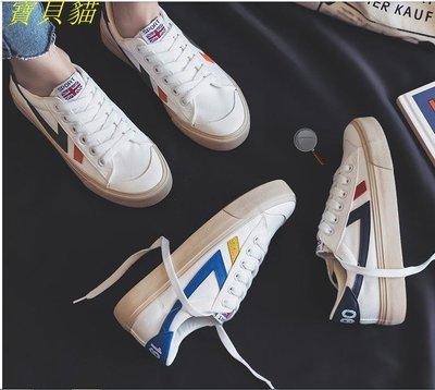 2019新款小白鞋女板鞋子 春季韓版平底鞋子百搭運動鞋初中學生鞋