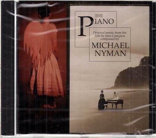 珍康萍導演奧斯卡金獎THE PIANO 鋼琴師與他的情原聲帶cd ~ 歐版 MICHAEL NYMAN 未拆