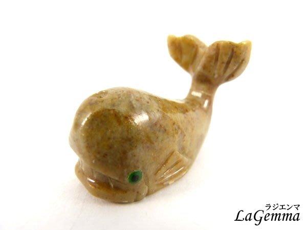 ☆寶峻水晶☆碧玉祕魯動物雕刻 鯨魚 可愛動物擺飾, 紙鎮 AN-30