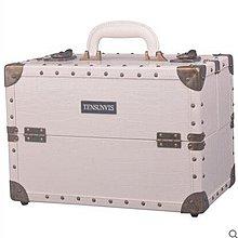 【優上】TENSUNVIS專櫃完美韓版大號手提化妝箱包美容箱