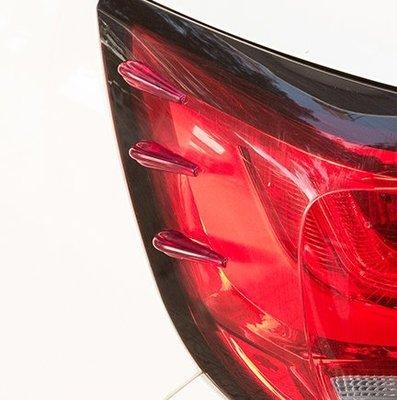車用降低風阻擾流條汽車身防撞條裝飾條車前後大燈尾燈改裝導流板