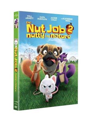 【樂視】 純英文原版 搶劫堅果店2 1DVD The Nut Job 2 啟蒙英語動畫片碟片 精美盒裝