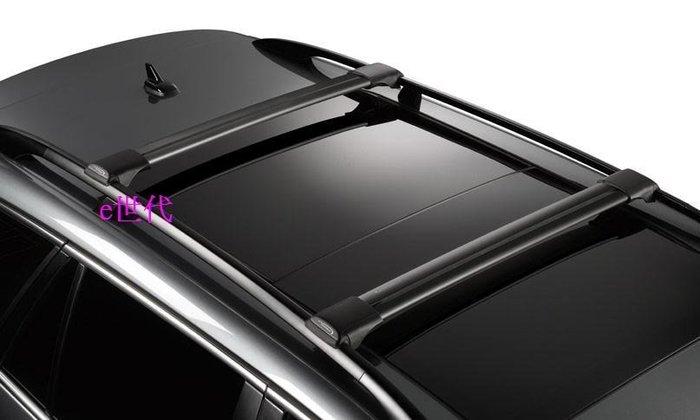 e世代YAKIMA WHISPBAR RAIL BAR黑色夾直桿式車頂架~縱桿車頂專用型橫桿單車架自行車架行李箱車頂箱