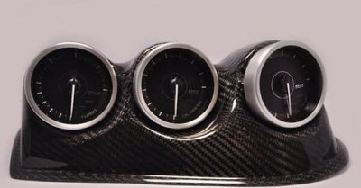 獨家碳纖品 日產 Fairladyz Z32 經典跑車專用碳纖三連儀表板/儀表框 限量