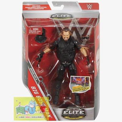 ☆阿Su倉庫☆WWE摔角 Big Bossman Elite 47 Figure 傳奇巨星精華版人偶附出場配件 熱賣中