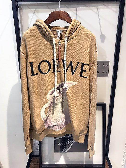 現貨【LOEWE】2018秋冬 泥瓶LOGO 拉鏈連帽外套 *40%OFF*