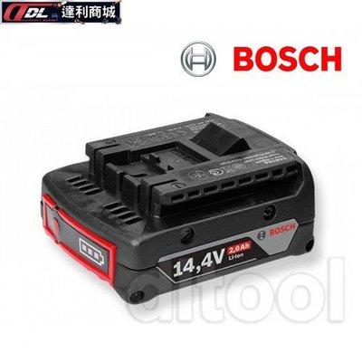 =達利商城= 德國 BOSCH 博世 14.4V 鋰電池 4.0Ah 滑軌式