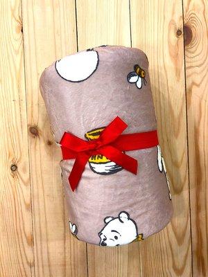 全新現貨 日本 迪士尼 Disney Acre Wood 小熊維尼 維尼熊 小毛毯 車用毯 小毯子 滿版圖案