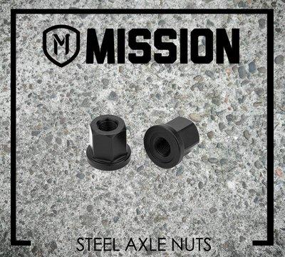 [Spun Shop] Mission BMX Steel Axle Nuts 花鼓軸芯鋼螺帽