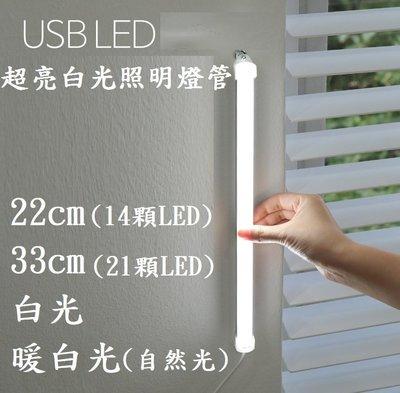 LED護眼檯燈 燈管 USB燈條 宿舍照明 條燈